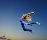 Professional gymnast Royalty Free Stock Image