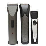 Professional hair clippers. Isolatet on white - beauty salon background stock image