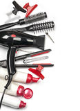Professional hairdresser tools stock photography