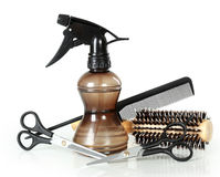 Professional hairdresser tools Stock Image