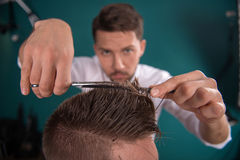 Professional  hairdressing salon Royalty Free Stock Photo