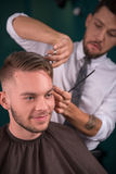 Professional  hairdressing salon Royalty Free Stock Photos