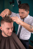 Professional  hairdressing salon Royalty Free Stock Photography