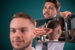 Professional hairdressing salon royalty free stock photos