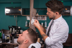 Professional  hairdressing salon Royalty Free Stock Images