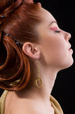 Professional hairstyle Royalty Free Stock Photos