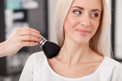 professional hairstylist is serving customer at royalty free stock images - Professional Hairstylist