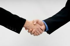 Professional Hand Shake Stock Image
