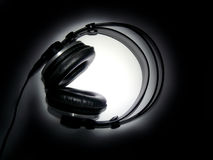 Professional headphones Royalty Free Stock Photos
