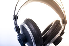 Professional headphones Royalty Free Stock Photo