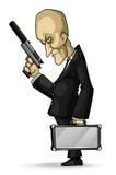 Professional Hitman stock illustration