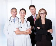 Professional hospital staff Royalty Free Stock Photos