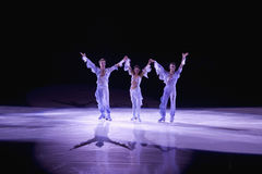 Professional ice skater Royalty Free Stock Images