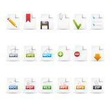 Professional Icon Set  /  2 - Documents Royalty Free Stock Photos