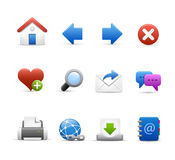 Professional_Icon_Set_3 - Navigation Royalty Free Stock Images