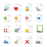 Professional Icon Set  /  4 - Pages Royalty Free Stock Image