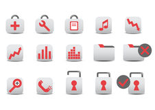 Professional icons Stock Photography