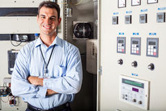 Professional industrial technician Royalty Free Stock Photo
