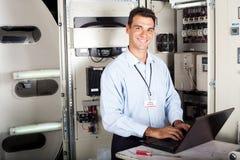 Professional industriell tekniker Arkivfoton