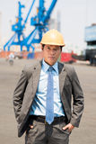 Professional inspector Stock Image