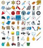 Professional Instruments Set Stock Images