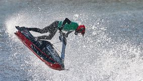 Free Professional Jet Ski Riders Compete At The IFWA World Tour Royalty Free Stock Photo - 116829435