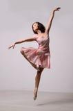 Professional jumping ballerina Stock Image