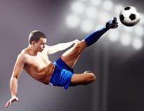 Professional kick Stock Photo