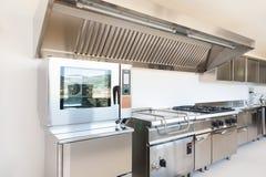 Professional kitchen Stock Photo