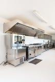 Professional kitchen royalty free stock photos