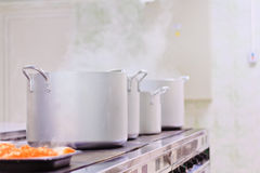 Professional Kitchen Royalty Free Stock Photography