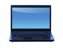 Professional laptop isolated in white background Royalty Free Stock Image