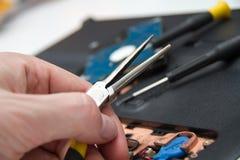 Professional laptop repair Royalty Free Stock Image