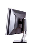Professional lcd monitor, back side Royalty Free Stock Photo