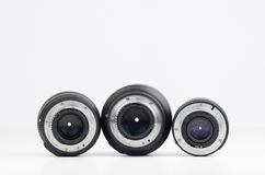 Professional Lenses Royalty Free Stock Photo