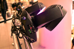 Professional lighting equipment for show business Stock Image