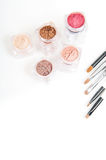 Professional loose powder Royalty Free Stock Images