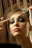 Professional Make-up Royalty Free Stock Photography