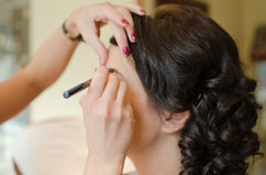 Professional make-up Stock Photo