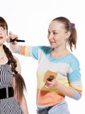 Professional make-up Stock Photos