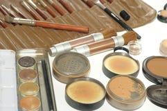 Professional make up artist set Royalty Free Stock Photography