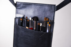 Professional make-up bag Royalty Free Stock Photography