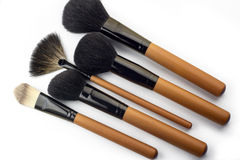Professional make-up brush Royalty Free Stock Photography