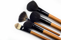 Professional make-up brush Royalty Free Stock Photo