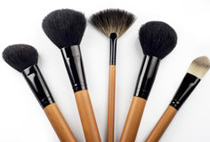 Professional make-up brush Stock Photos