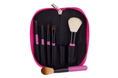 Professional make-up brush cosmetic Royalty Free Stock Photo