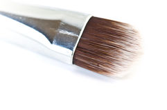 Professional make up brushes. On white Royalty Free Stock Image