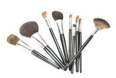 Professional Make-up Brushes Stock Image