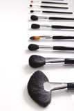 Professional Make-up brushes Royalty Free Stock Image