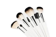 Professional make up brushes Stock Photos